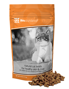 Life's Abundance cat treats