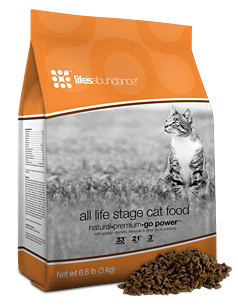 Life's Abundance All Life stages dry cat food