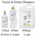 PinkPawPal facial and kitten shampoo