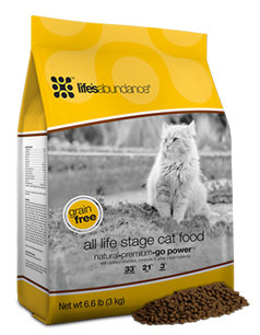 Life's Abundance Grain Free Dry Cat food