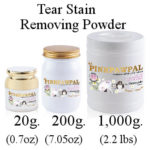 Tear Stain removing powder by pinkpawpal professional grooming products