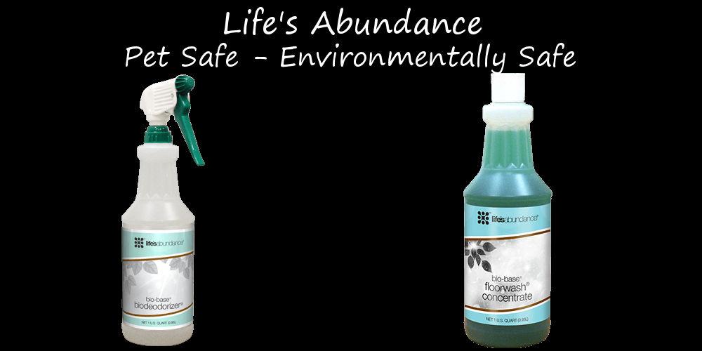 Life's Abundance Cleaners