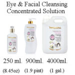 Eye and facial cleansing solution